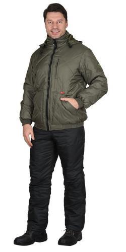 "Куртка ""ПРАГА-Люкс"" олива"
