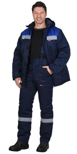 Костюм «РОСТ-НОРД»  зимний с брюками смесовая