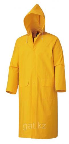 Плащ влагозащитный желтый