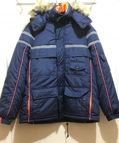 Куртка Аляска дюспо синяя