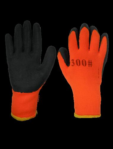Перчатки # 300 с прорезиненной ладонью