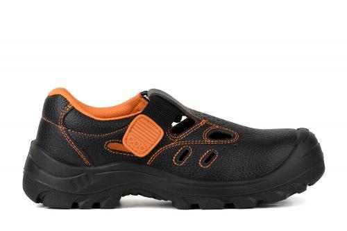 Полуботинки-сандалии рабочие с перфорацией с защитным стальным металлоподноском ЭЛИТ 21 SB